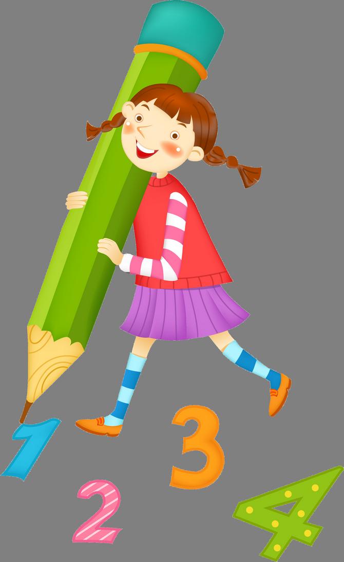 Дети и математика в картинках