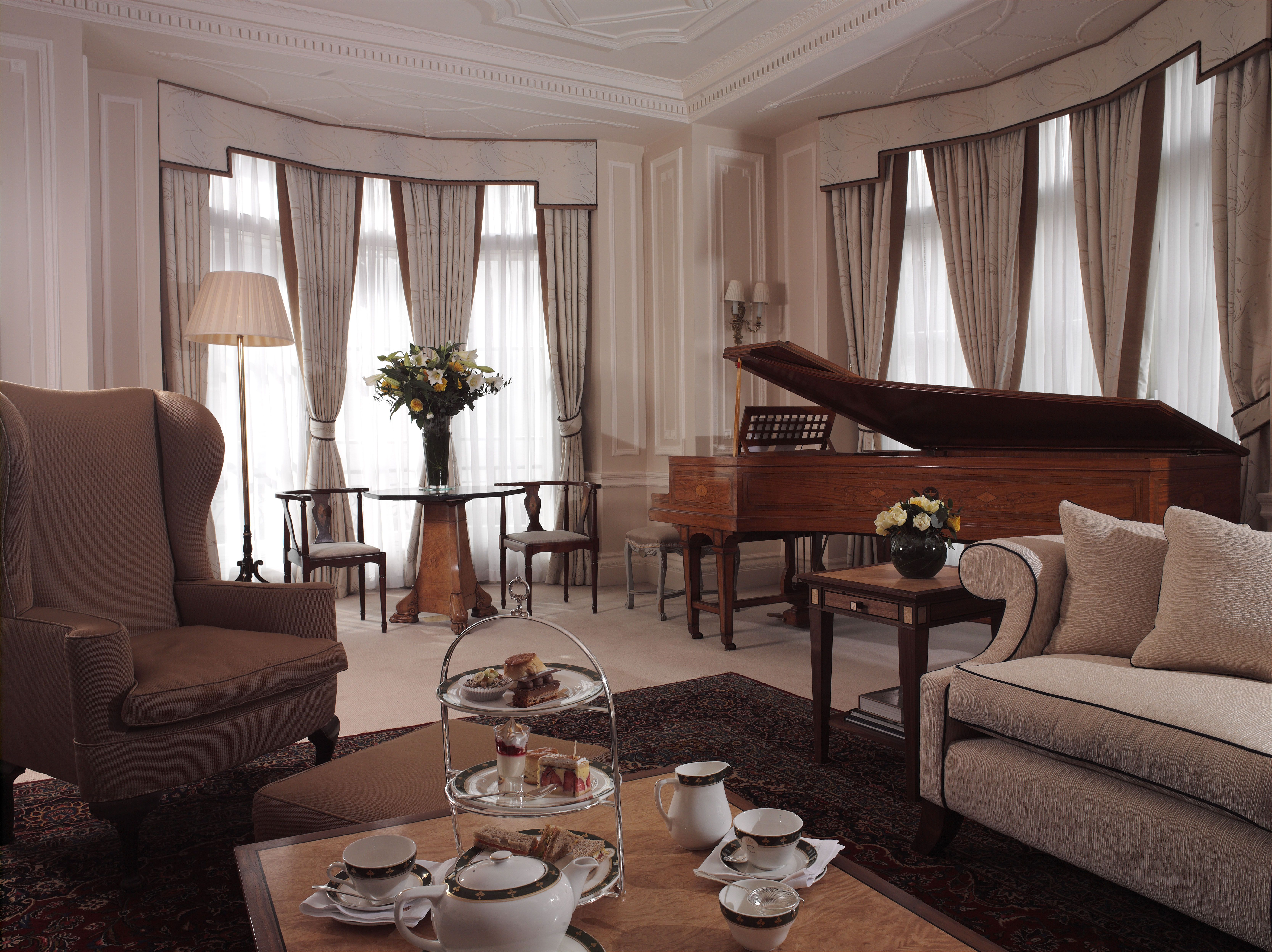 Claridge's Royal Suite in London oozes class
