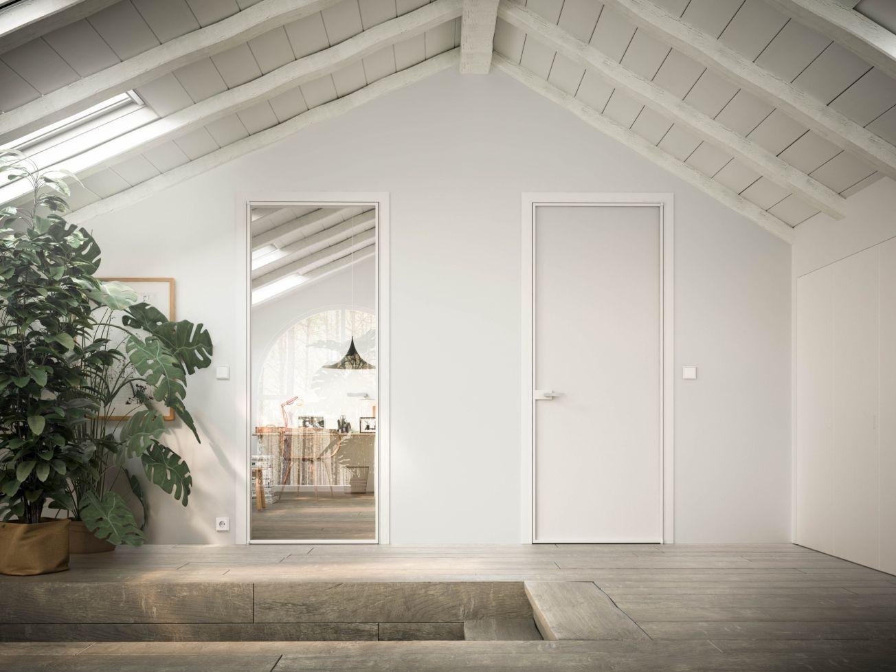 The Mitika Internal Door is a beautiful glass internal door system ...