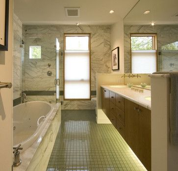 Bathroom With Glass Floor  Contemporary  Bathroom  Seattle Prepossessing Bathroom Design Seattle Inspiration