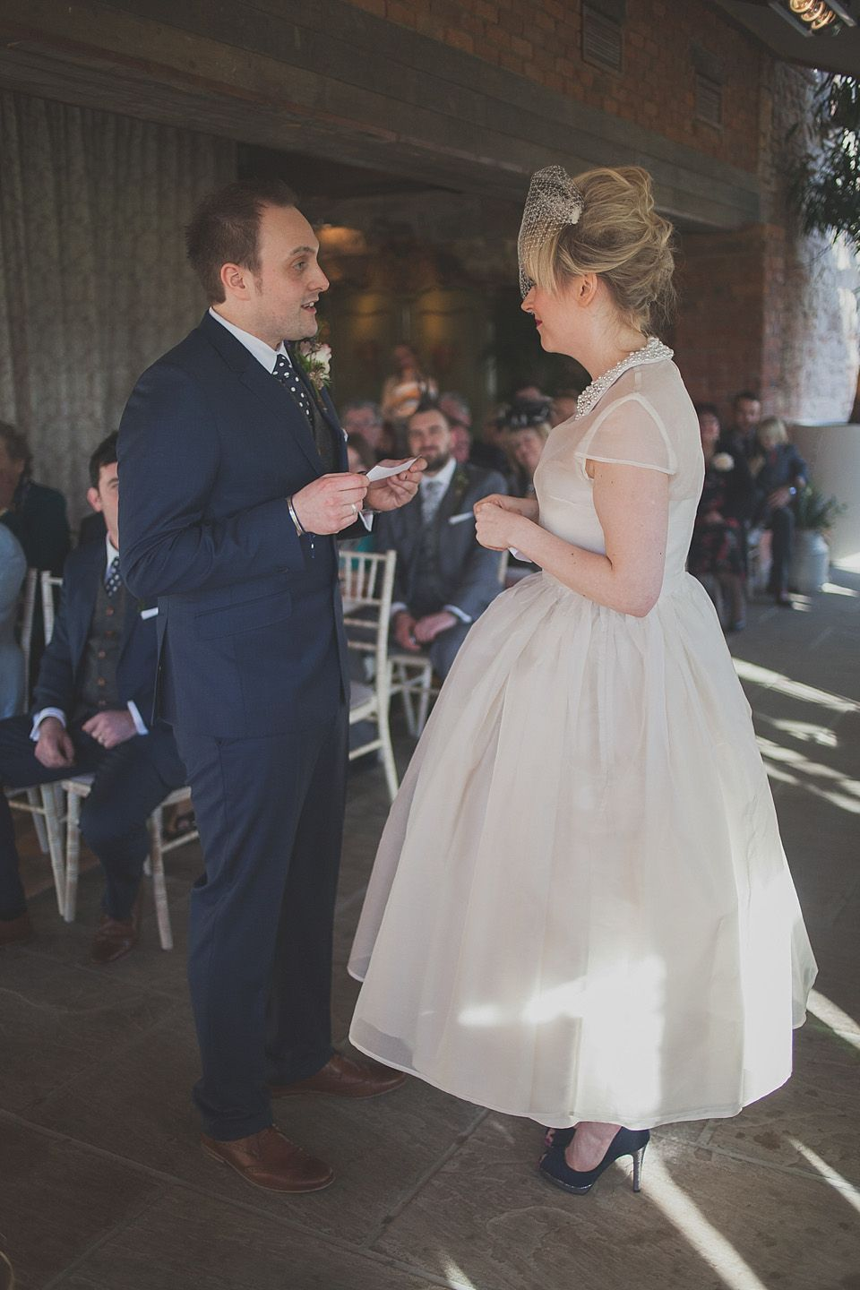 A Pretty Peter Pan Collar Wedding Dress | Pinterest | Wedding dress ...