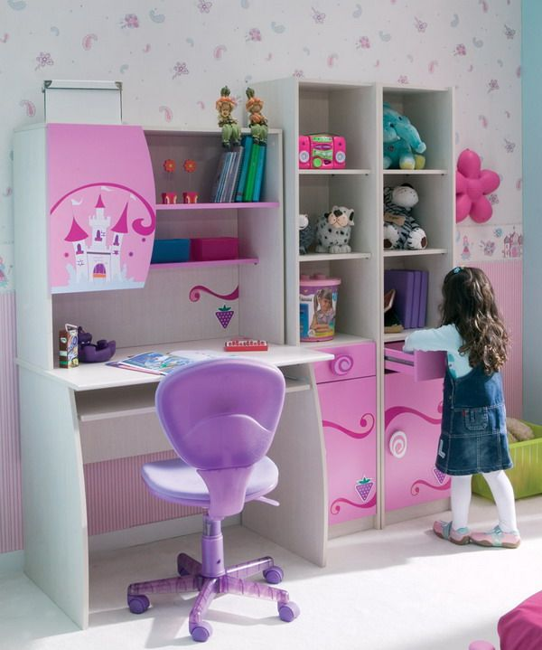Desk Design Ideas With Side By Side Storage Shelving Kids Interior Design Kids Bedroom Designs Modern Kids Bedroom