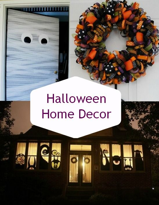 Make your home the spookiest on the block with these easy and - halloween homemade decoration ideas