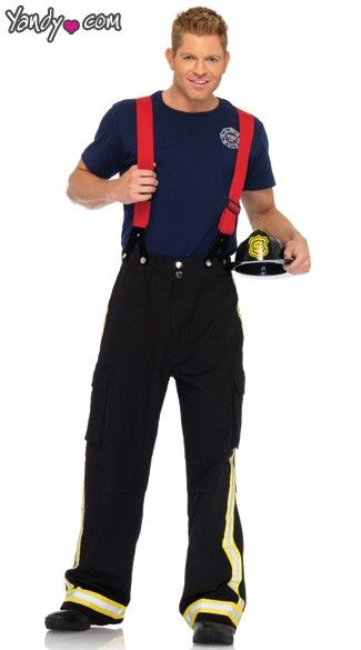 mens firefighter costume - Fireman Halloween