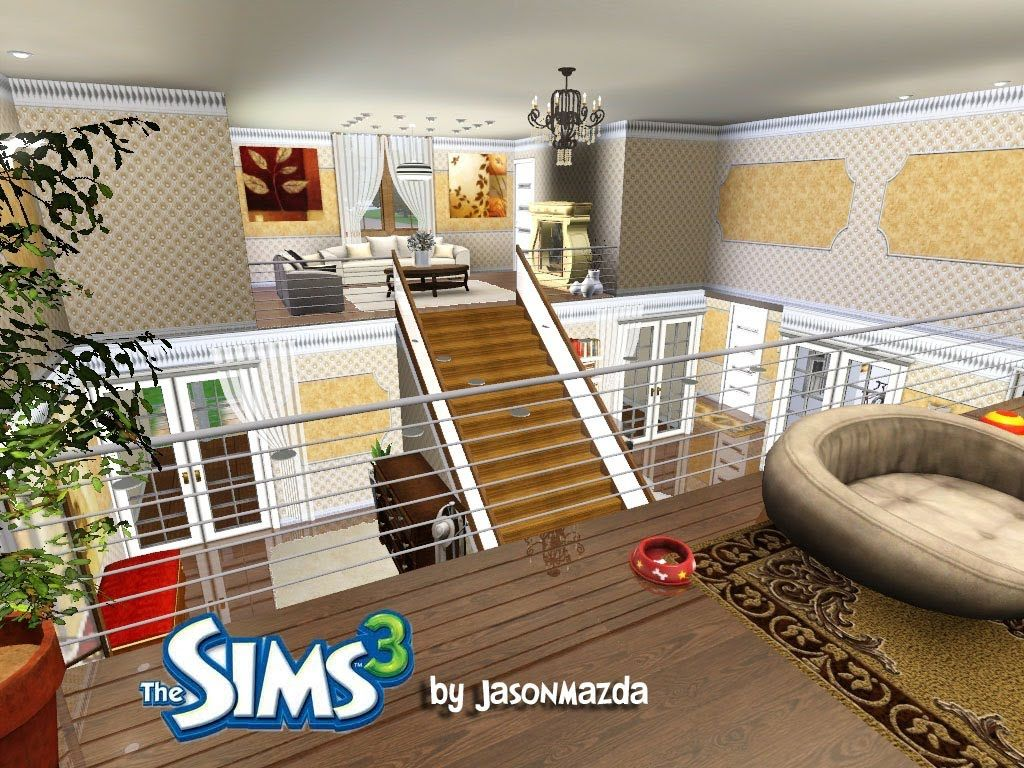 Beau The Sims 3 House Designs   Royal Elegance