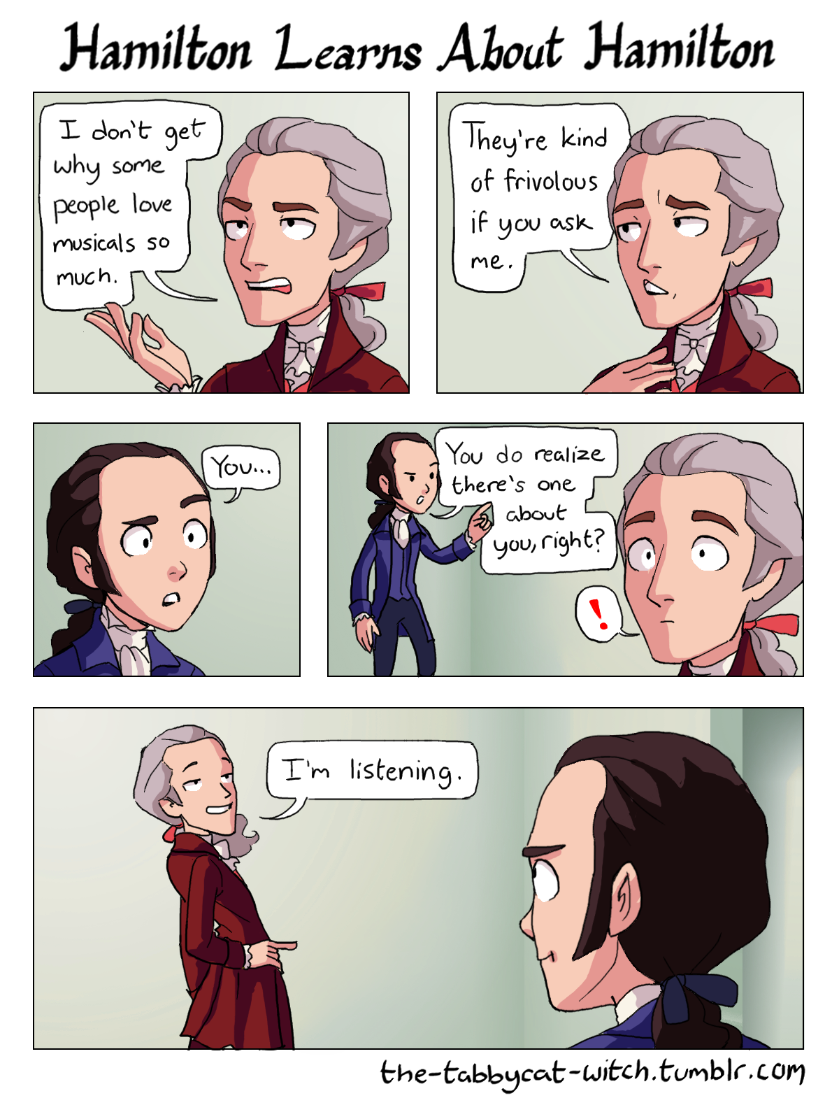 Image Result For Hamilton Tired Comic