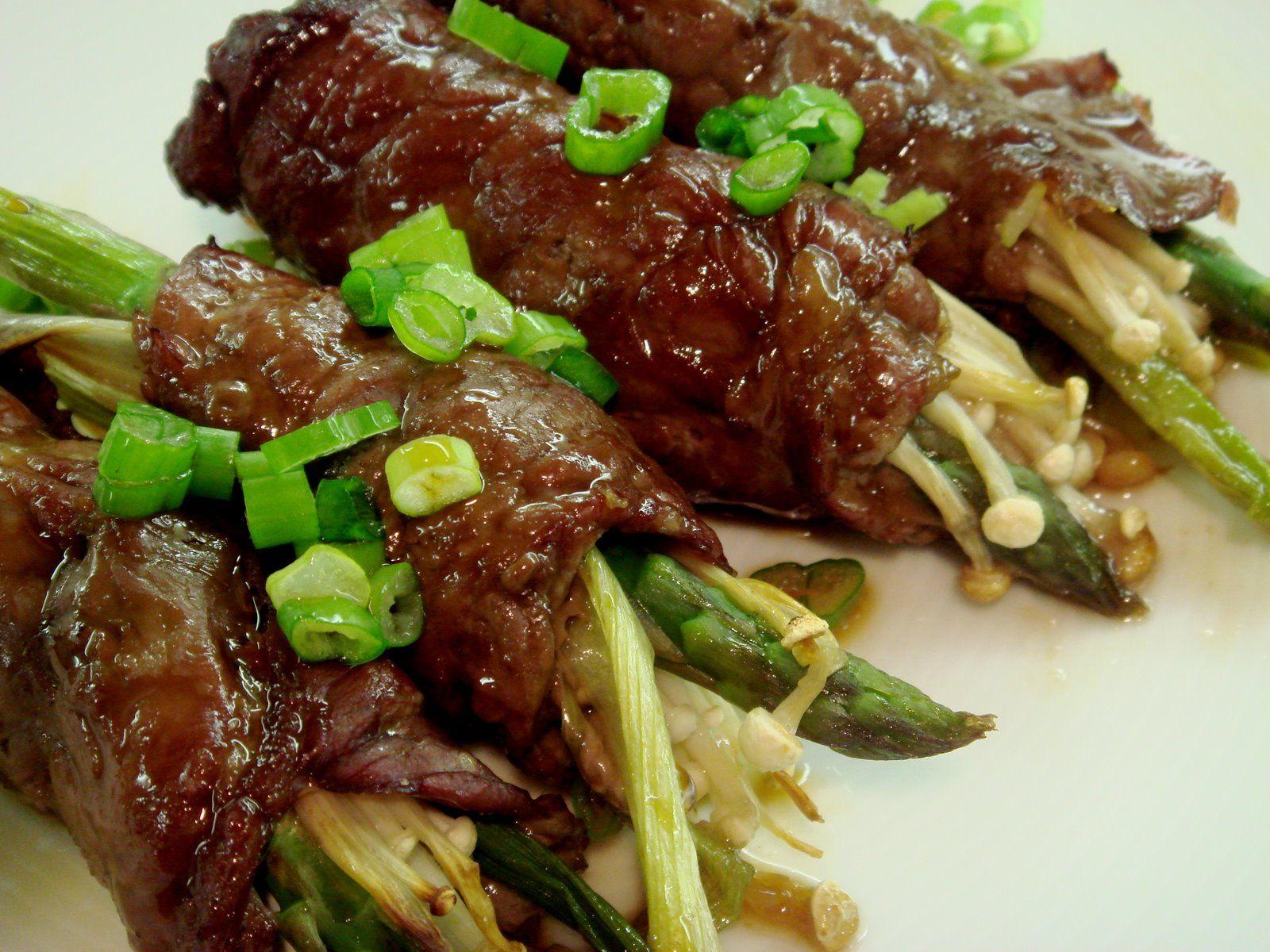 Japanese beef rolls recipe ingredients sirloin steaks japanese beef rolls recipe ingredients sirloin steaks asparagus green onion teriyaki forumfinder Image collections
