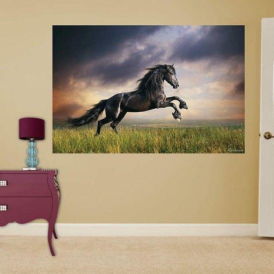Pferde Wandtattoo | kinderzimmer | Pinterest | Wandtattoo, Pferde ...