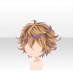 ヘアスタイル 狂逸フラワリーショートブラウン Hair Clothes Anime