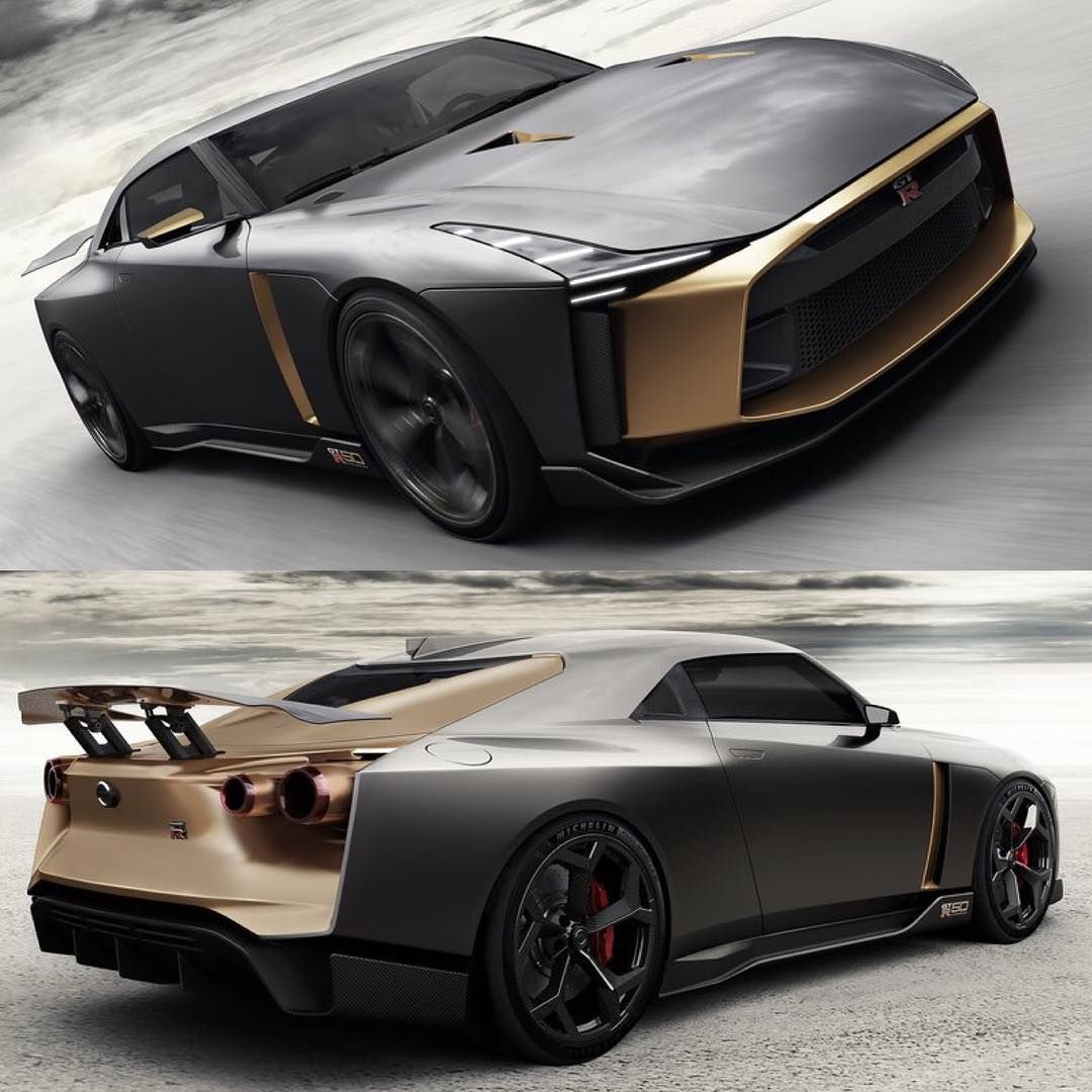 Do You Think The Nissan Gtr 50 By Italdesign Official Should Make It Into Production Futuristic Cars Design Super Cars Futuristic Cars