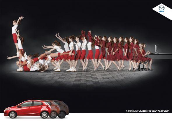 Mazda2: Free exercise | Ads of the World™