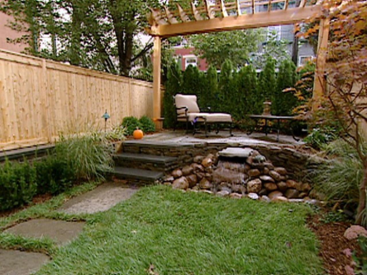 Small yards big designs diy network yards and backyard