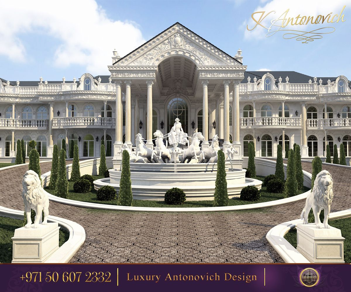Royal Home Designs: The Place Of The Rich Society.