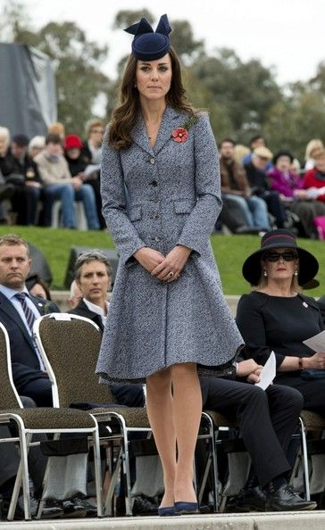Kate Middleton - Prince William and Kate Mark ANZAC Day
