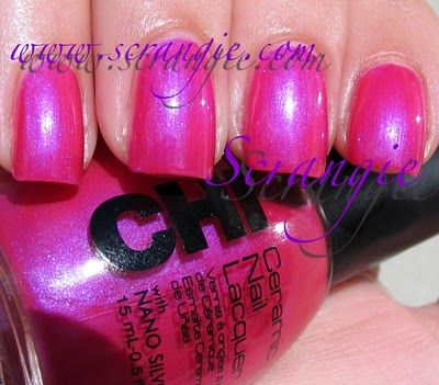 CHI Double-Fisted Fuchsia (Bright Shimmery Pink)