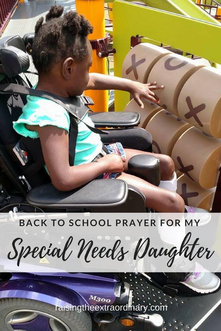 Back to School Prayer for My Special Needs Daughter | FAMILY