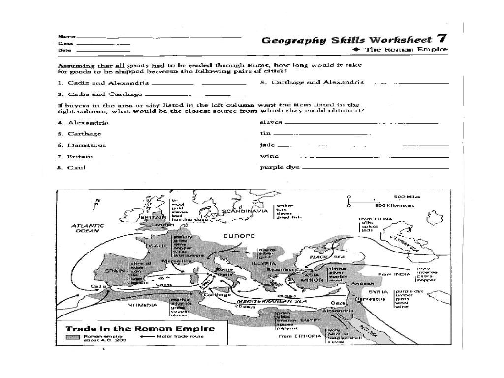 8 Printable Geography Worksheets Grade 8 In