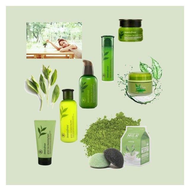 """""""Green tea"""" by orangieluv on Polyvore featuring beauty ..."""