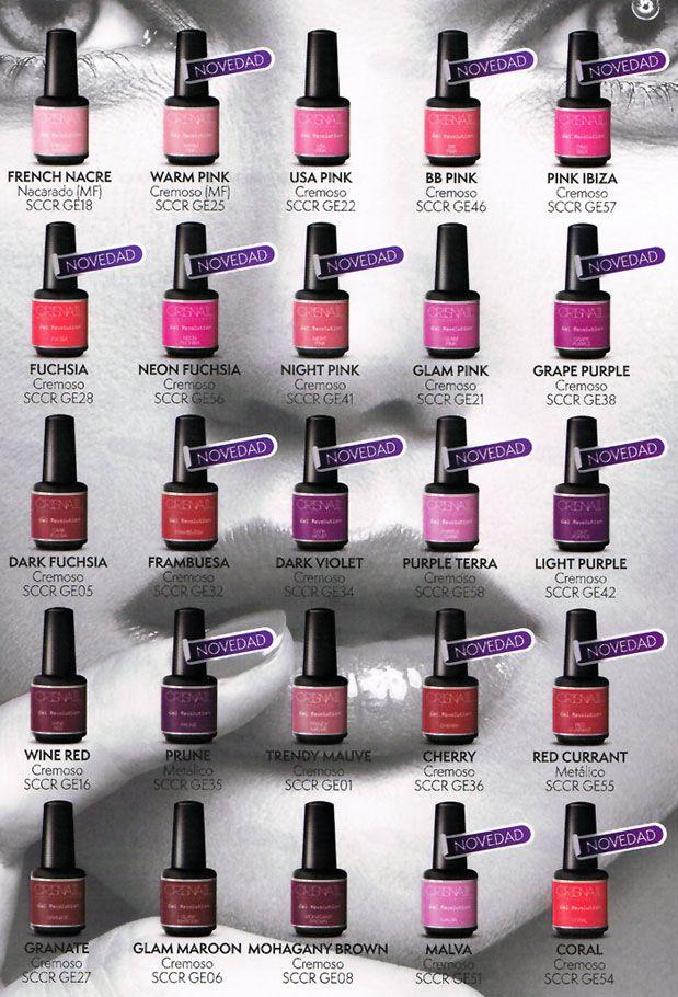 GEL REVOLUTION DE CRISNAIL - Crisnail - Estetic Beautiful   nails ...