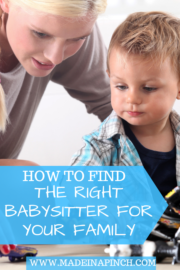 How to find a babysitter that you love!