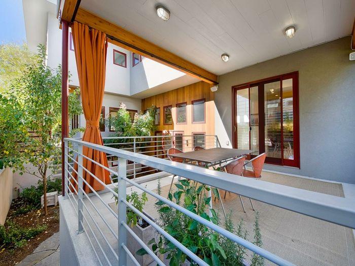 ▷ 1001 + Ideen Für Eine Moderne Terrasse Und Zehn Letzte Trends | Moderne  Terrasse, Orange Stühle Und Terrasse Dekorieren