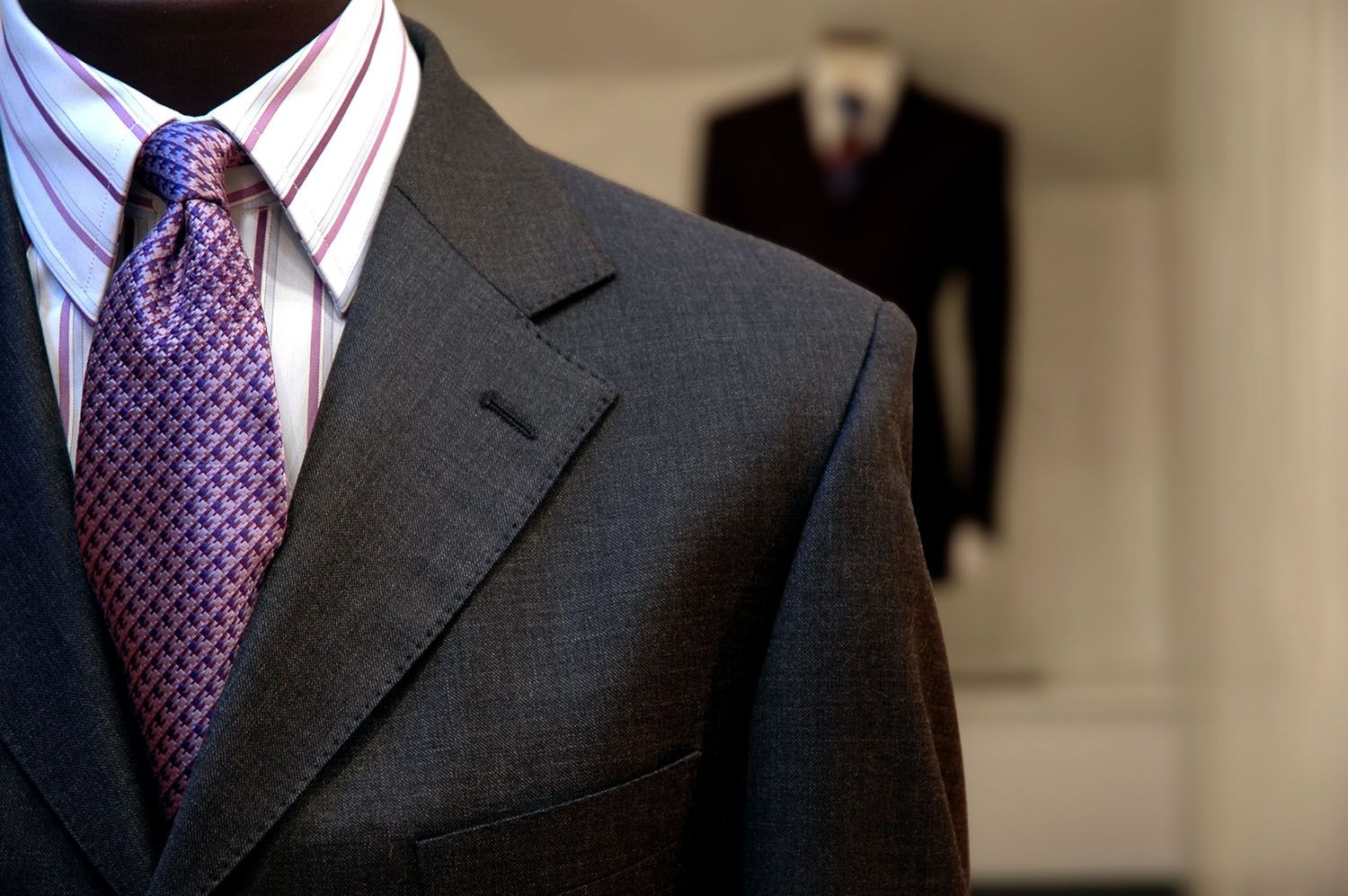 The custom-made suits are always tailored after taking the exact measurements carefully, which results in just the right fit. Usually in the case of custom-made suits, the tailors leave a small margin in case you gain or shed some pounds.http://thetailorynyc.blogspot.com/2015/12/3-reasons-why-getting-custom-tailored.html