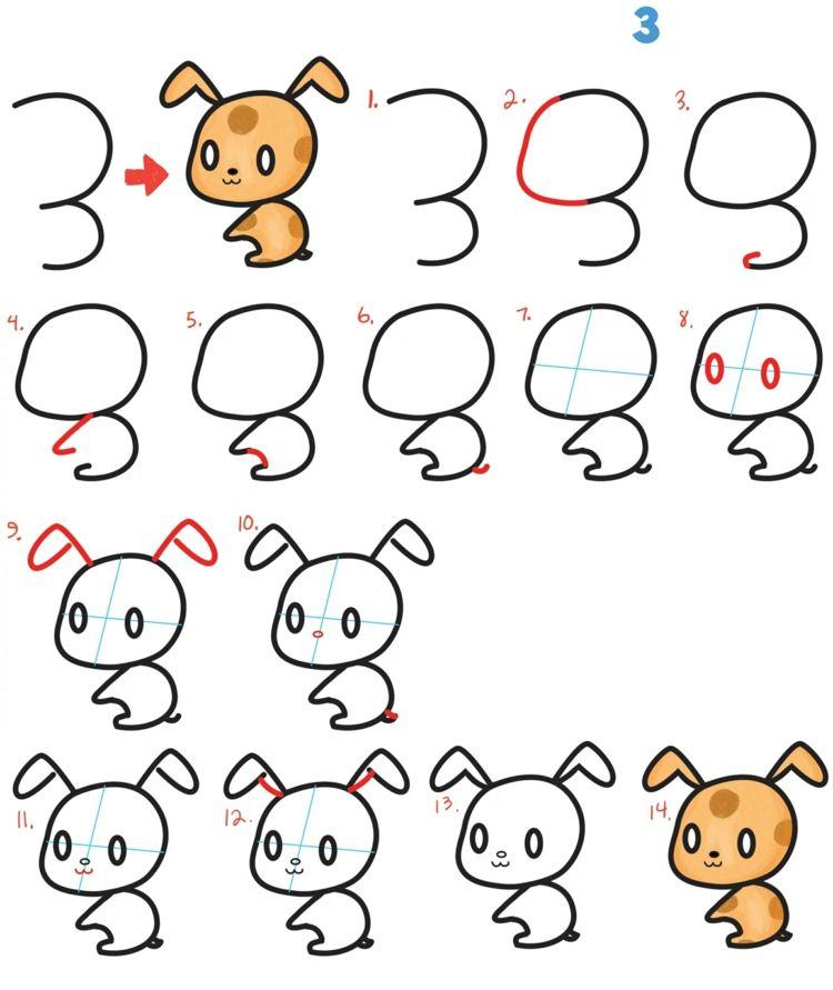 Tiere Malen Und Zeichnen Einfache Anleitungen Fur Kinder Tiere Malen Malen Und Zeichnen Zeichnen