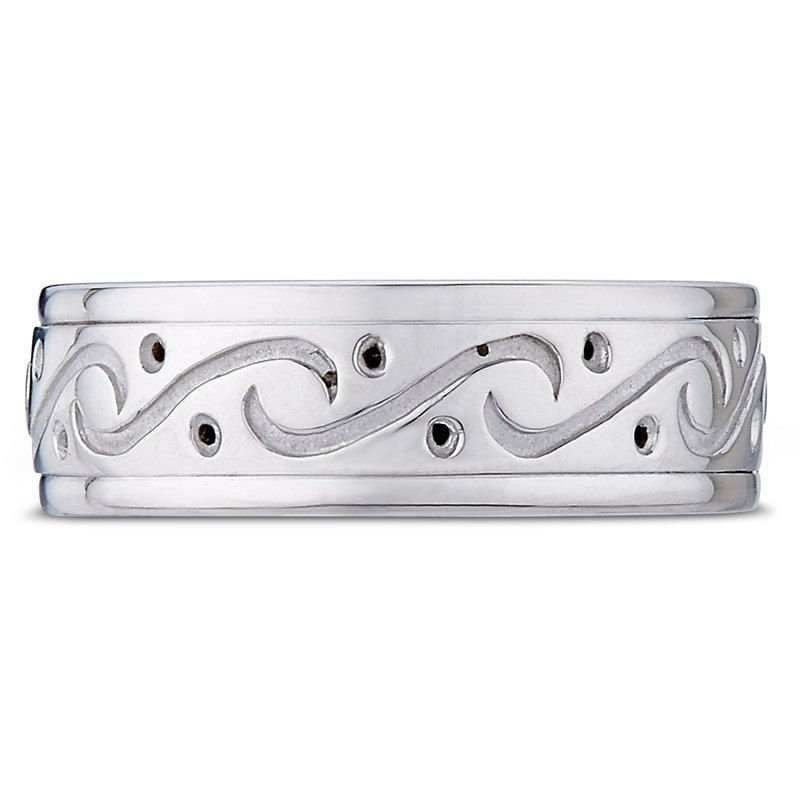Celtic Wedding Rings,Mens Wedding Bands,14K White Gold Wedding Bands,Irish Wedding Rings,Matching Wedding Rings,Celtic Wedding Bands by TallieJewelry on Etsy