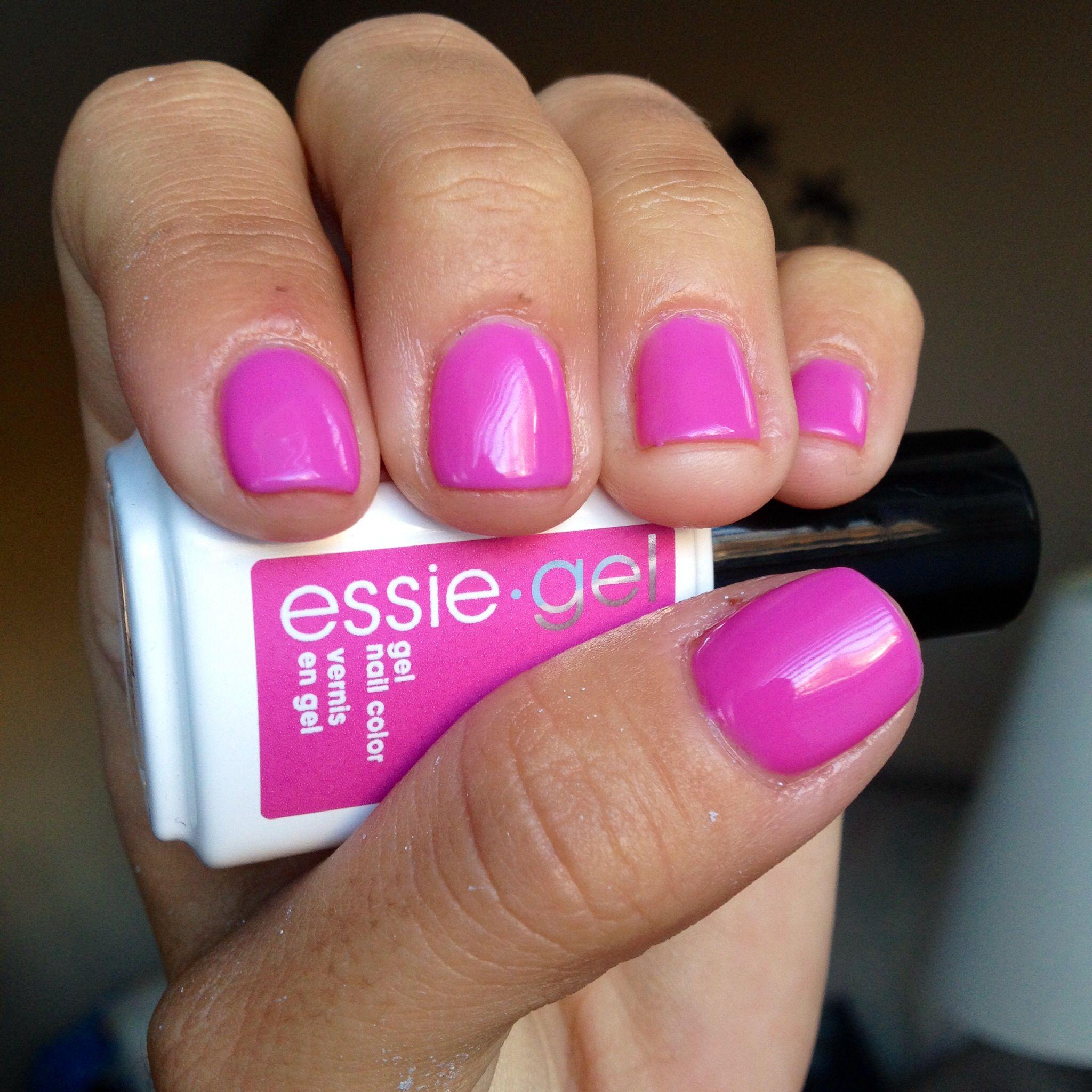Essie Gel- Frangipani | NAILS! | Pinterest