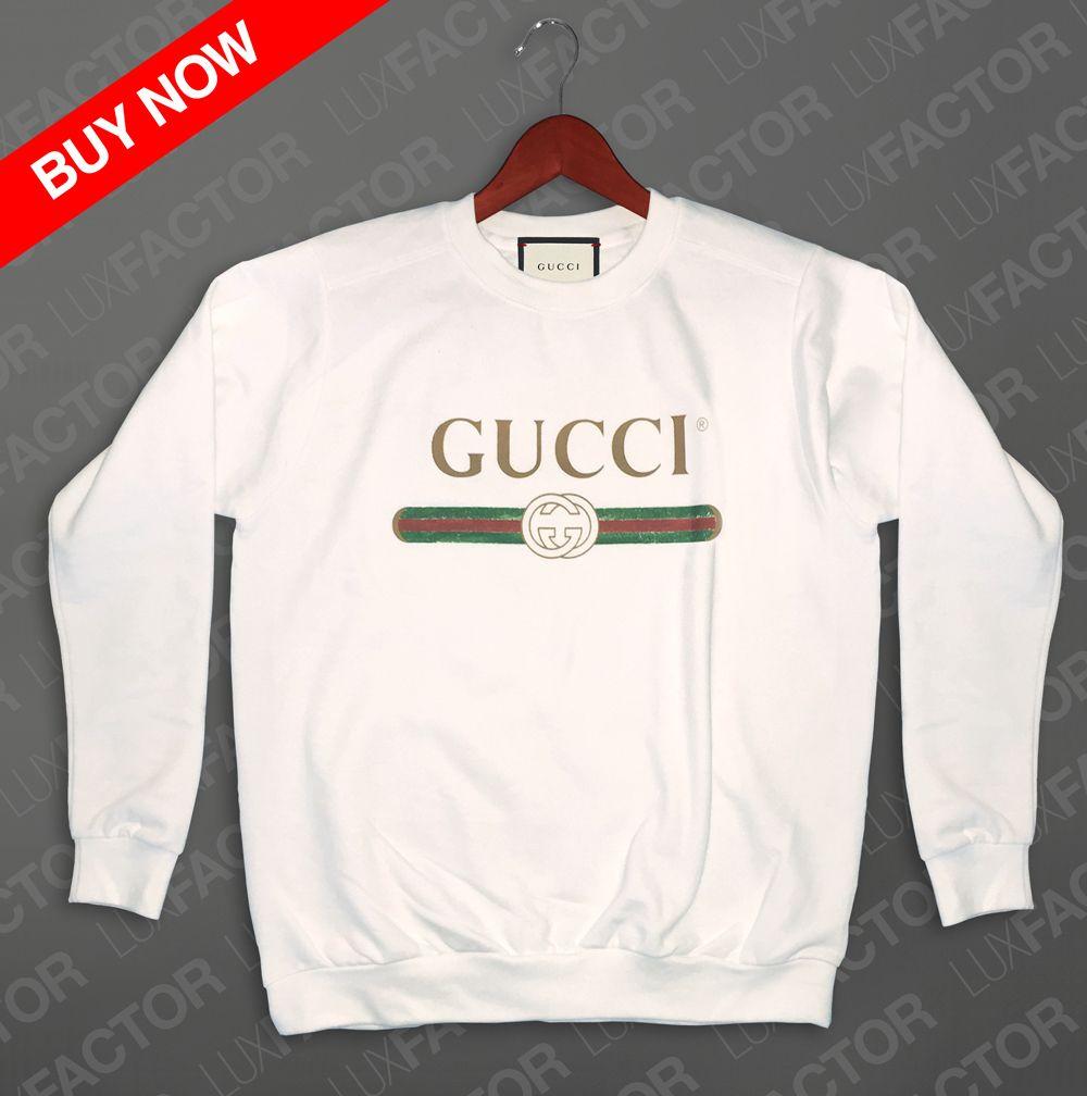 Gucci Sweatshirt Vintage Vintage Sweatshirt Gucci Sweatshirt Sweatshirts [ 1008 x 1000 Pixel ]