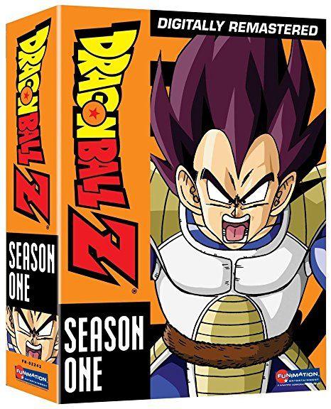 Dragon Ball Z Season 1 Vegeta Saga Dragon Ball Z Dragon Ball Anime