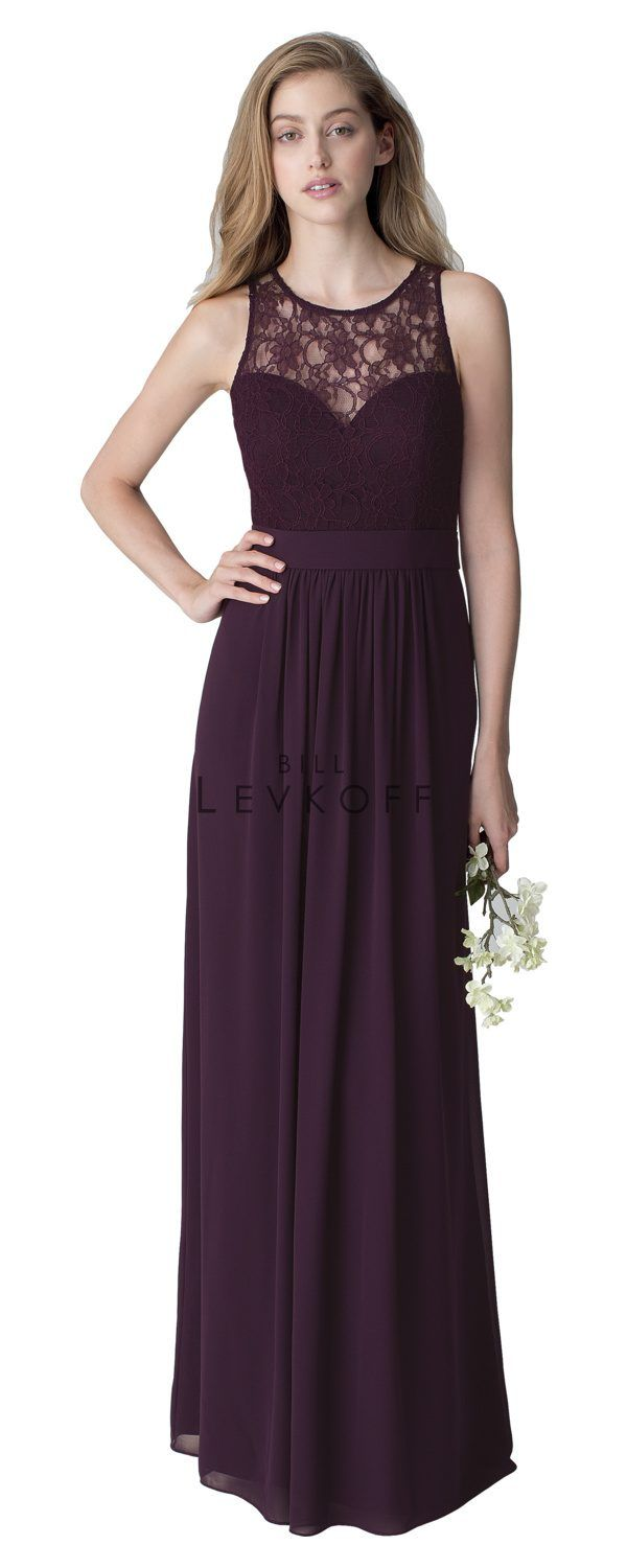Bridesmaid dress style 1251 bridesmaid dresses dressing the high neckline on this bill levkoff bridesmaids dress is to die for available at ella weiss wedding design in springfield mo ombrellifo Image collections