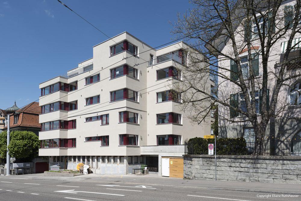 Walter Kälin-Holzbau AG – 5-geschossiger Holzbau auf MFH in Zürich