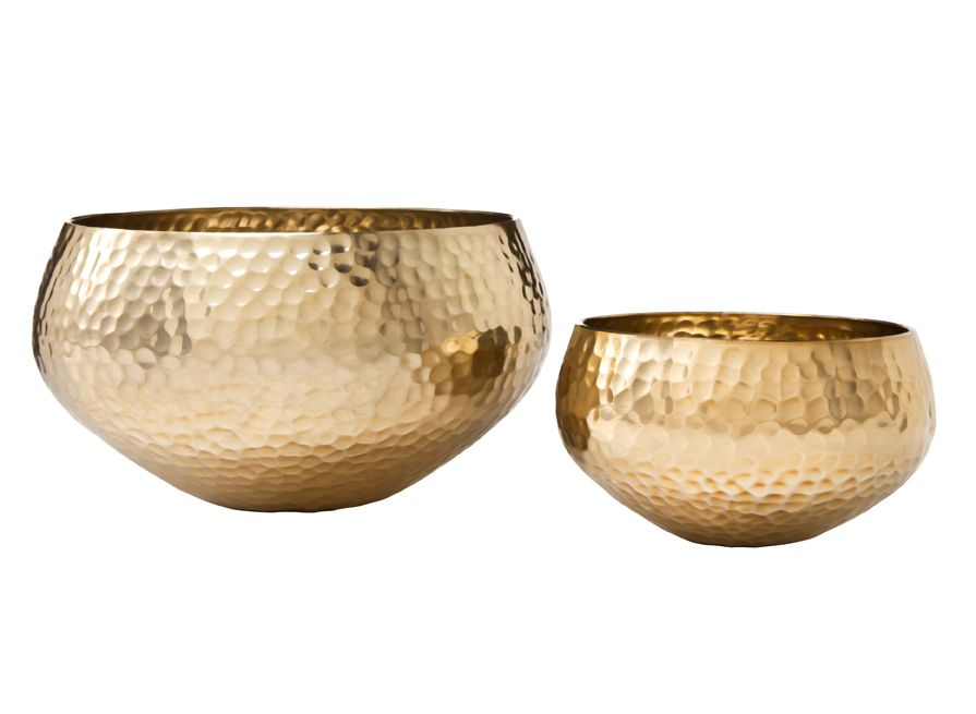 Gold Decorative Bowl Hammered Bowls Available October 21 At Target Stores And Online