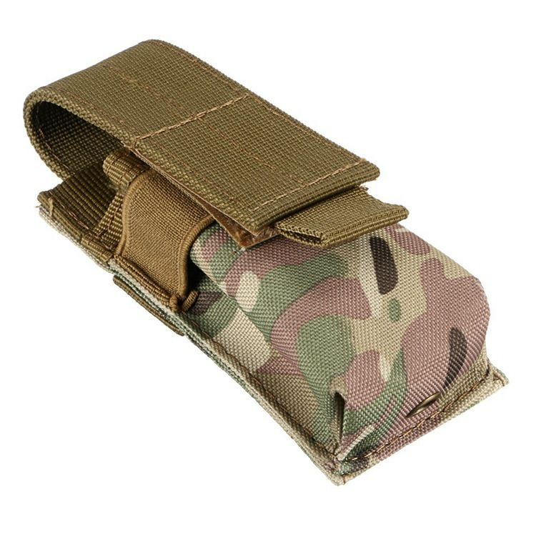 Waterproof  Case Camouflage Holster Flashlight Cover Flashlight Bag Nylon Pouch