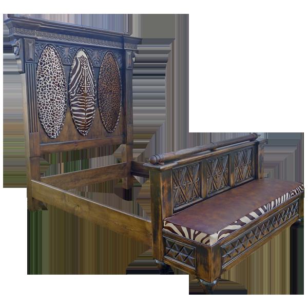 La Pinta Safari Bed | Safari Beds | Safari Bedroom | Safari Furniture