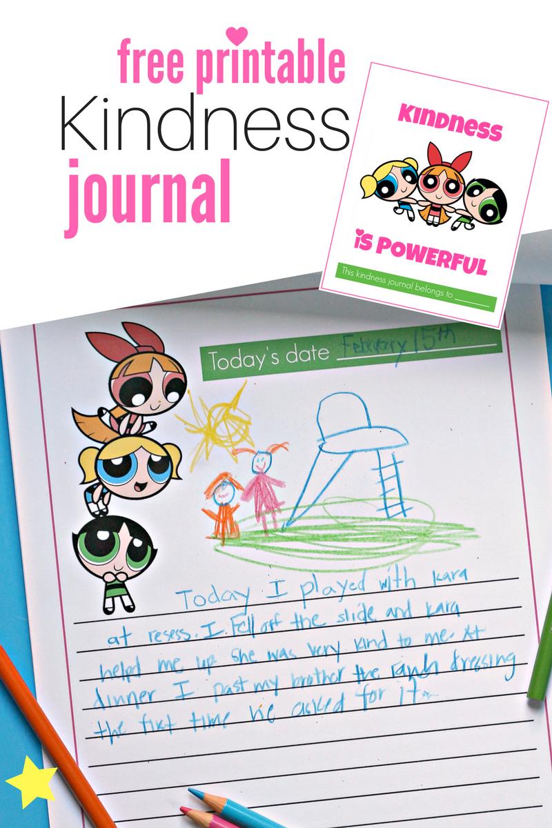 Powerpuff Girls Printable Kindness Journal No Time For Flash Cards Printable Birthday Invitations Ladybug Birthday Invitations Ladybug Birthday
