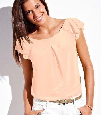 7848a52f26556 Blusas de moda ¡17 Increíbles modelos Juveniles!