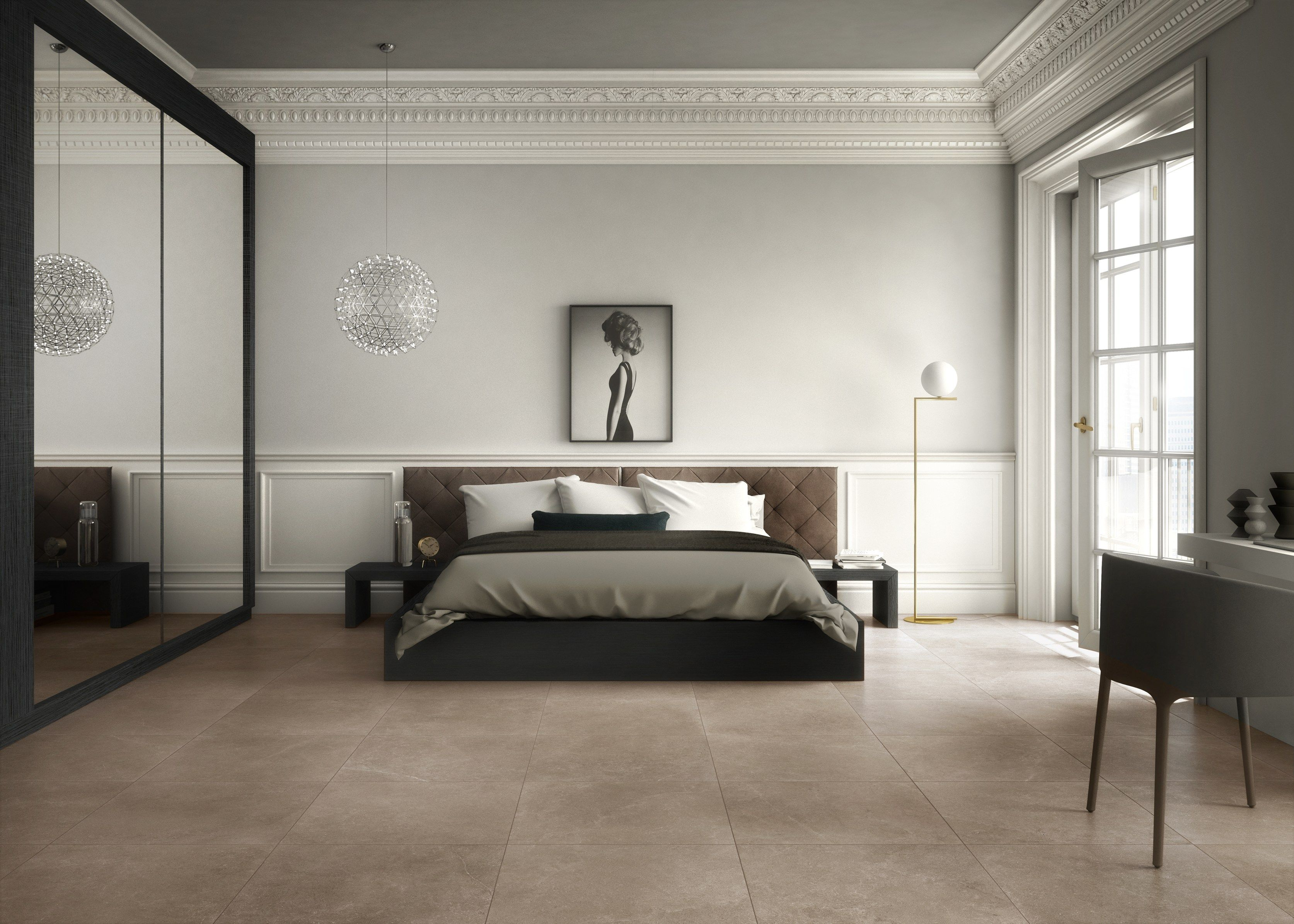Porcelain Stoneware Wall Floor Tiles With Stone Effect Prime Stone Prime Stone Collection By Panaria Ceramica Zimmer Schlafzimmer Beton Look