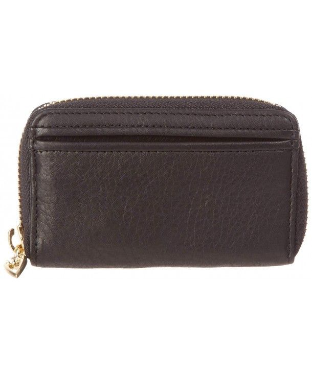 donington gold zip coincardkey business card holder