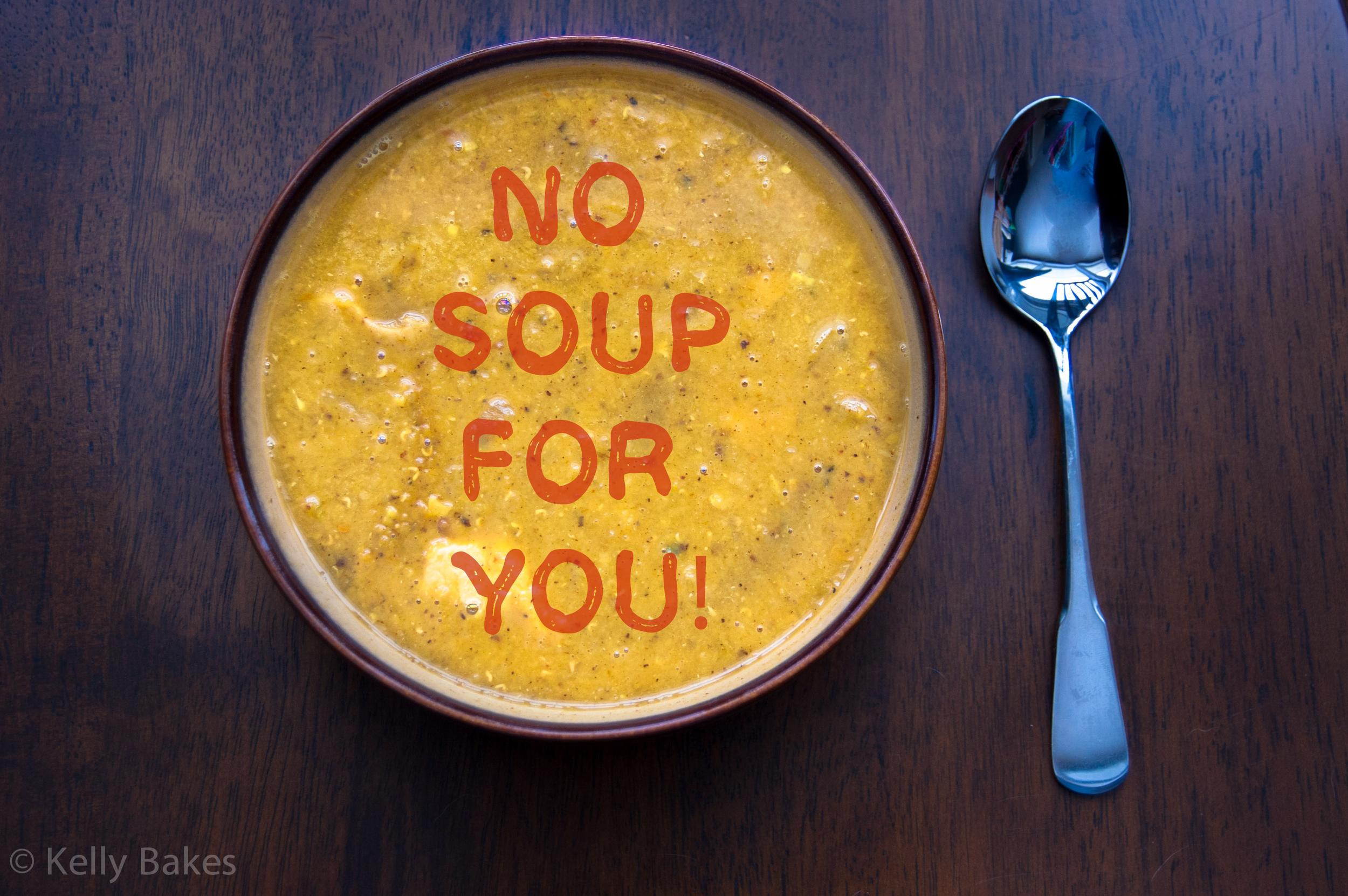 Festivus Mulligatawny Soup #mulligatawnysoup