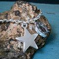 Lucky Star .925 Silver Bracelet