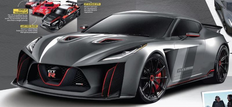 2018 Nissan Gt R R36 Front 2018nissangtr