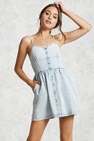 ab098acd Casual Dresses | T-Shirt Dresses, Cami Dresses & More | Forever 21 ...
