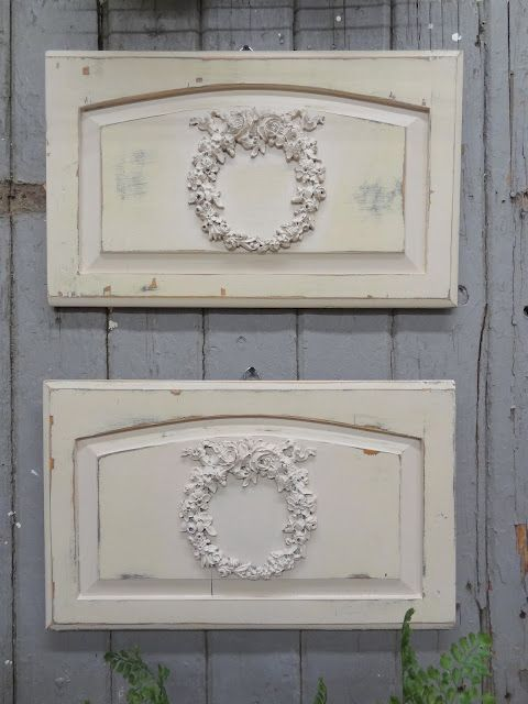 garden panels from cabinet doors