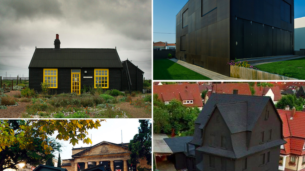 These Bold, Brooding Houses are Very Much in the Black