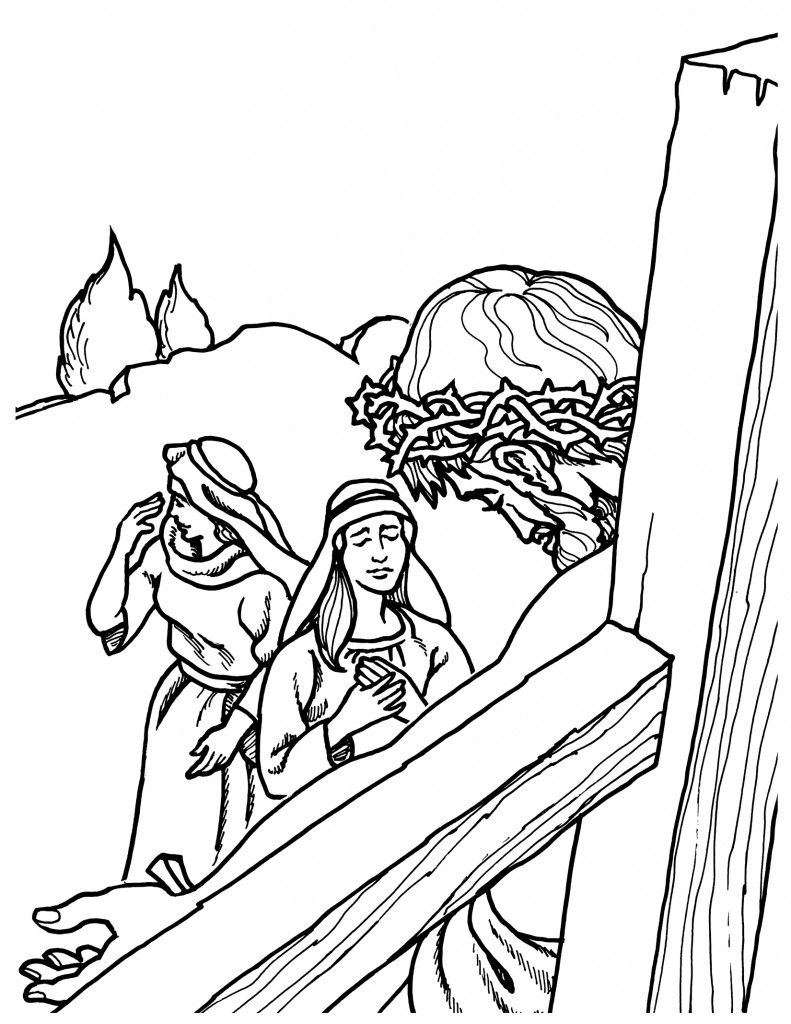 black and white bible coloring pages | bible colring of Jesus's life | E5152: Life of Jesus Bible ...