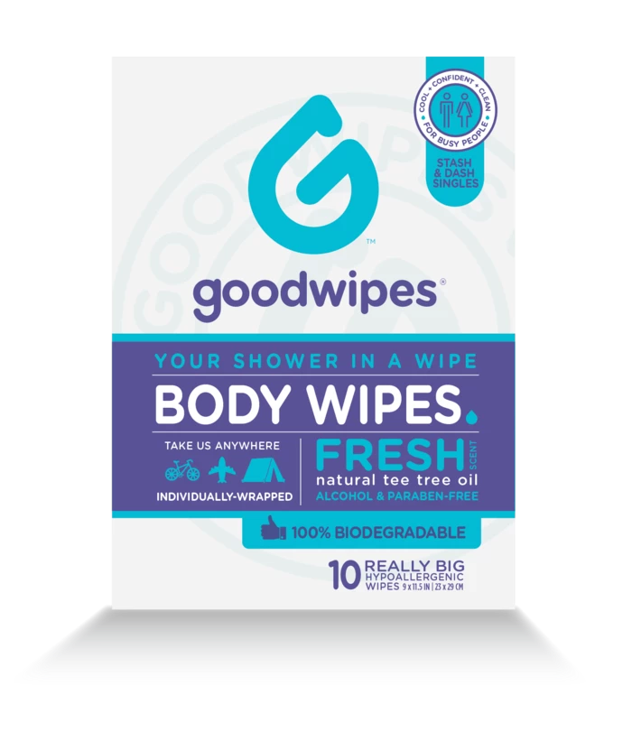 Body Wipes for Everyone Fresh 10CT Singles