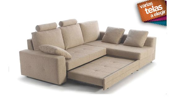 Sofa cama dos plazas mas chaise longue derecha chaise for Sofa 4 plazas mas chaise longue