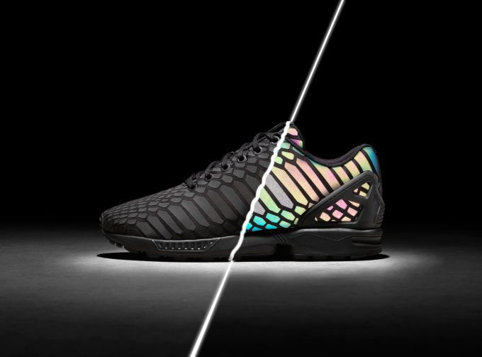 Adidas ZX Flux 'Xeno' Black & Grey Sneakers Available Now
